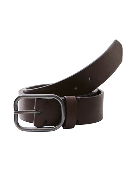 Brown ombré belt