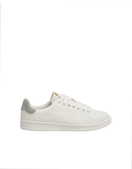 Fabric urban trainers