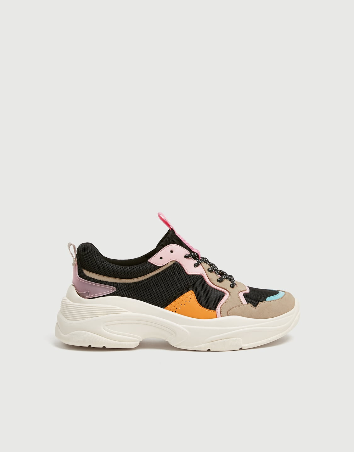 275882e92 Chunky sole sneakers - pull&bear