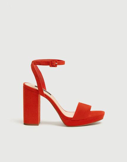 Women's high-heel sandals