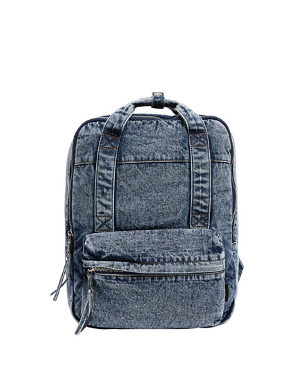 Sac à dos denim