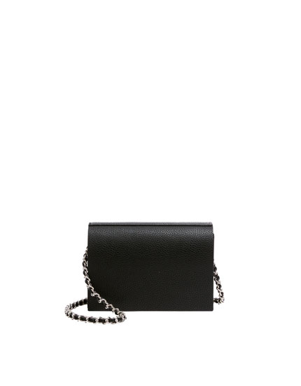 Black basic crossbody bag