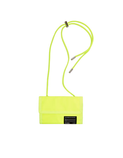 Cartera crossbody amarilla