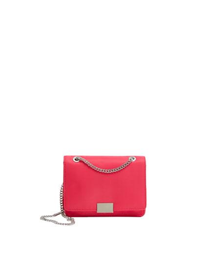 Fuchsia crossbody bag