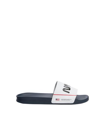 NASA pool sandals