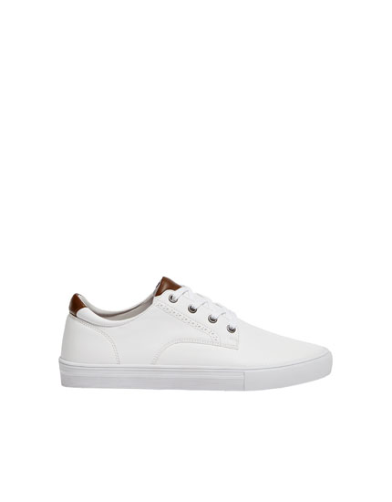 White urban trainers