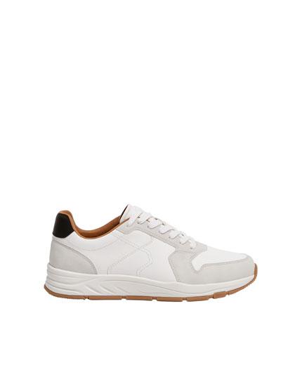 White urban trainers