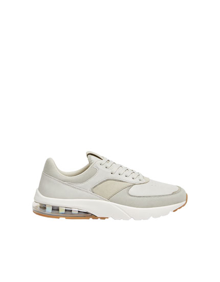 XDYE trainers with transparent heel detail