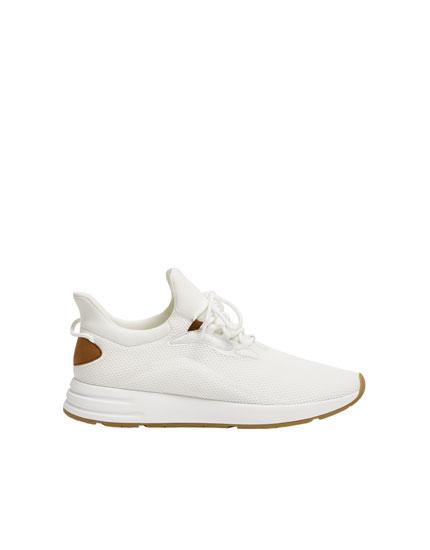 Urbaner Sneaker in Weiß