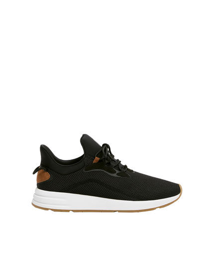 Black urban trainers