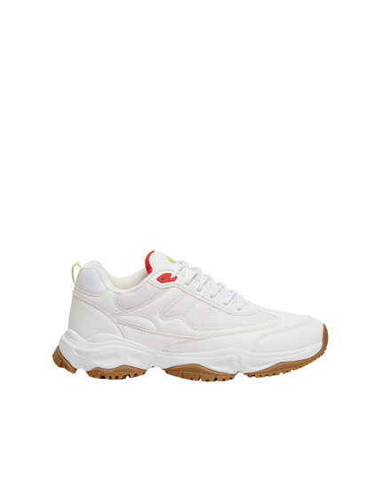 XDYE chunky sole trainers