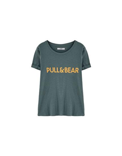 Shirt mit kurzen Ärmeln und Logo