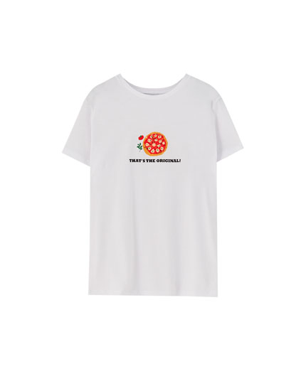 Basic T-shirt with illustration