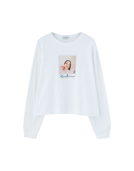 Pull&Bear by Rosalía long sleeve T-shirt