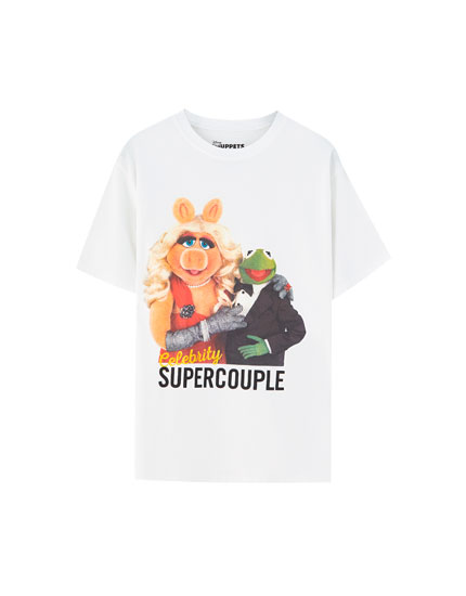 White The Muppets T-shirt