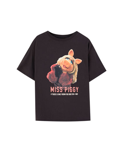 Black The Muppets T-shirt