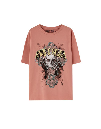 Camiseta Guns N' Roses calavera