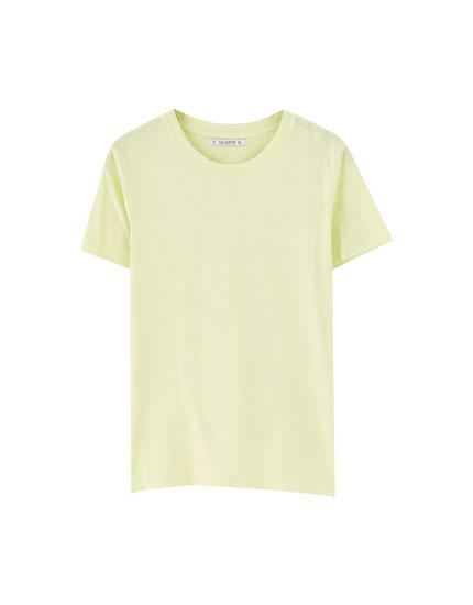 T-shirt manches courtes basique