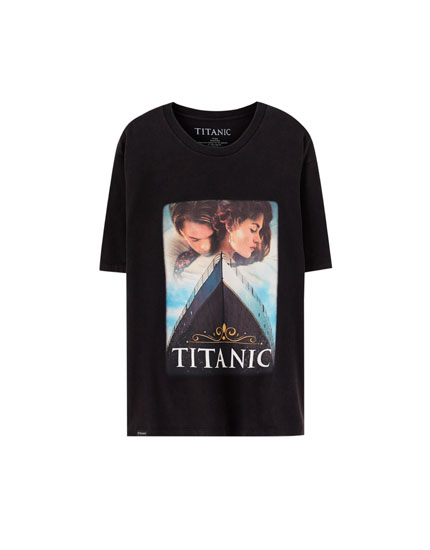 Black Titanic T-shirt