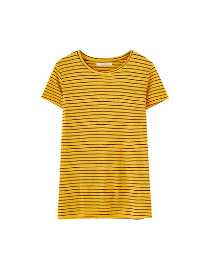 Camiseta básica rayas
