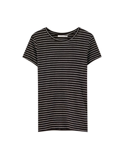 T-shirt rayé basic
