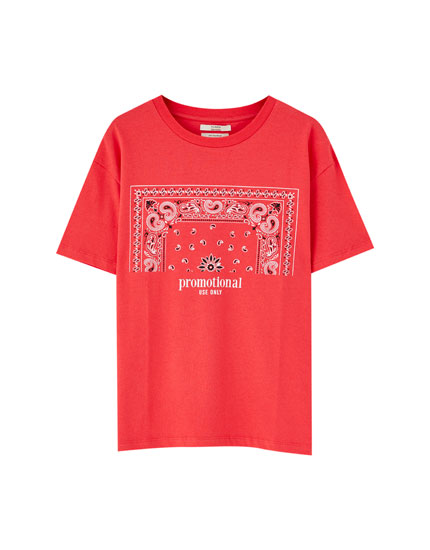 T-shirt illustration bandana