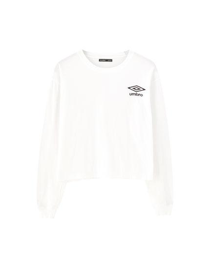 Camiseta Umbro x Pull&Bear manga larga