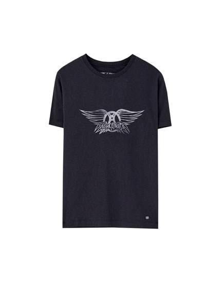 Short sleeve Aerosmith T-shirt