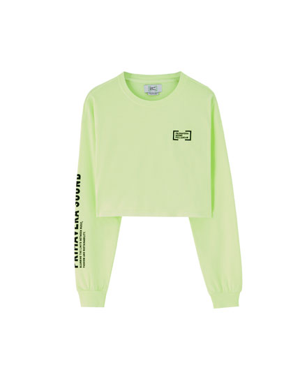 Camiseta flúor Primavera Sound x Pull&Bear