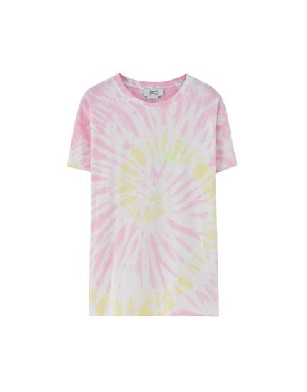 Camiseta tie-dye Primavera Sound x Pull&Bear