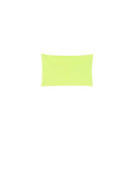 Neon bandeau top