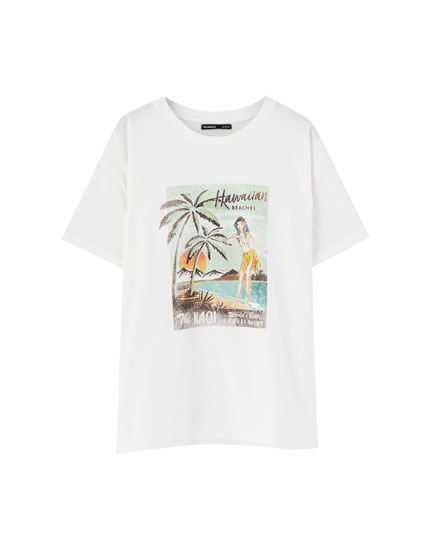 Sadie Sink Hawaiian T-shirt