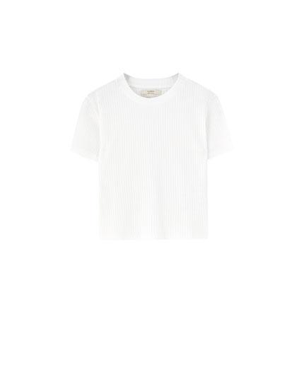 Tricou reiat cu mânecă scurtă Perkins