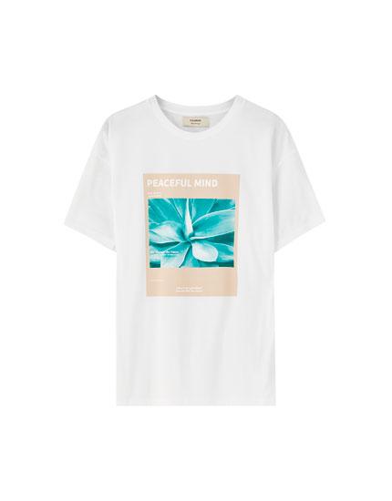 Camiseta cactus texto