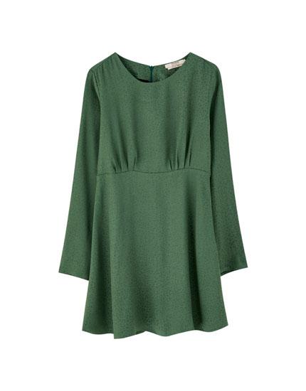 Casual Green Dress