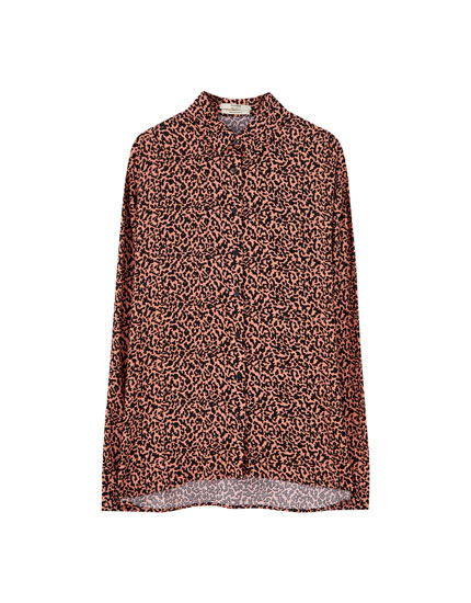 Camisa leopardo color