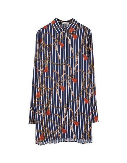 Pull Camisas Y Primavera De 2019 Mujer Verano Blusas amp;bear wvRqOw
