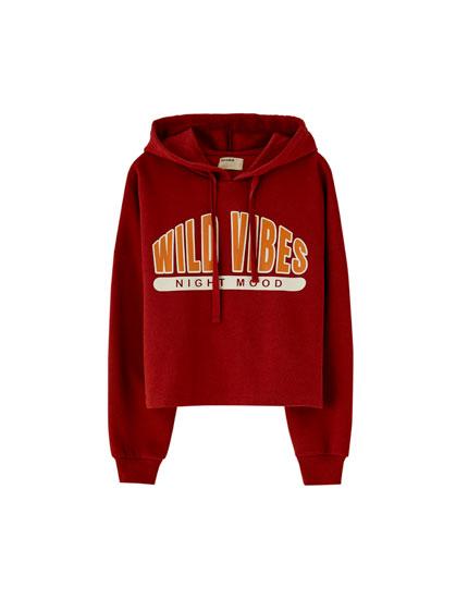 'Wild Vibes' hoodie