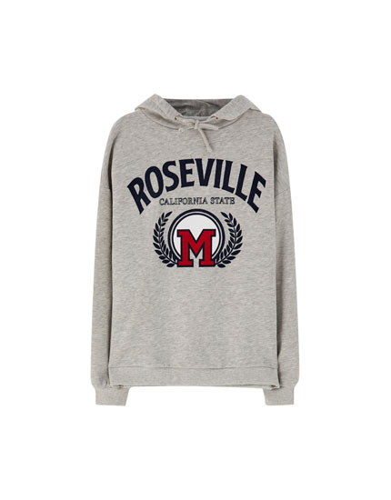 Sweat style universitaire « Roseville »