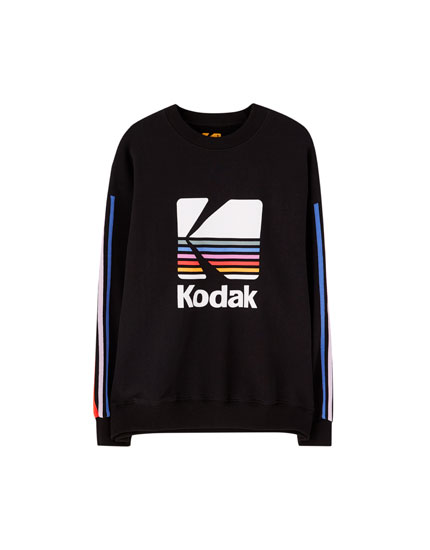 Black Kodak sweatshirt