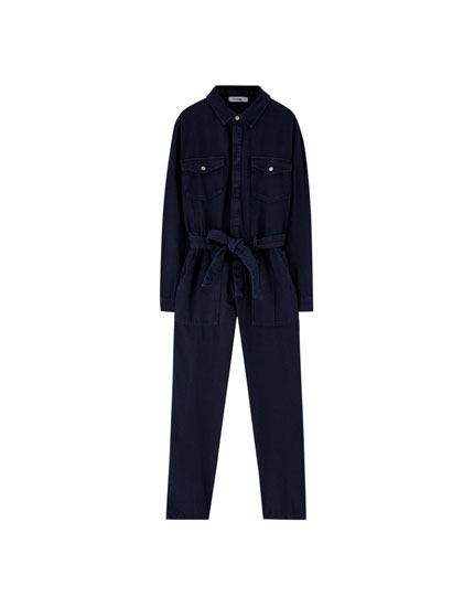 Long worker jumpsuit