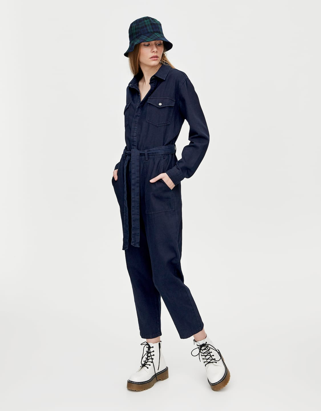 bf7f5151 Long worker jumpsuit