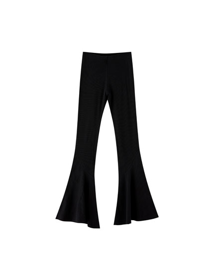 Pull&Bear by Rosalía bell bottom trousers