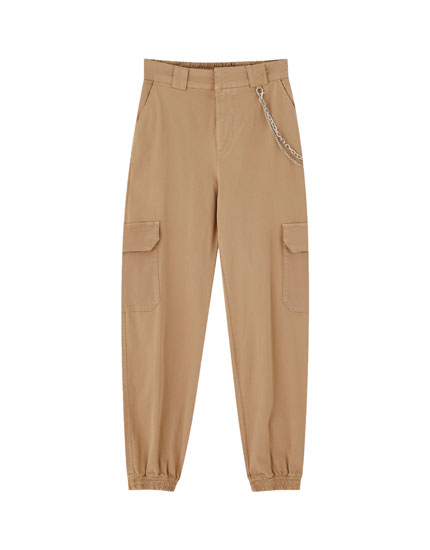 Cargo chino trousers