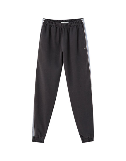 Basic joggers with side taping