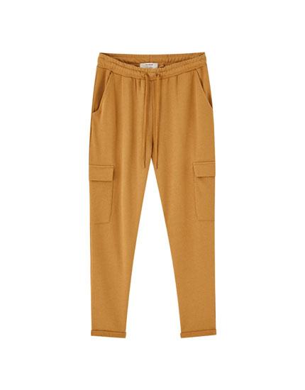 Joggers with cargo pockets