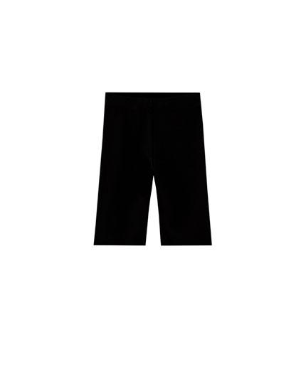Pantalón ciclista negro