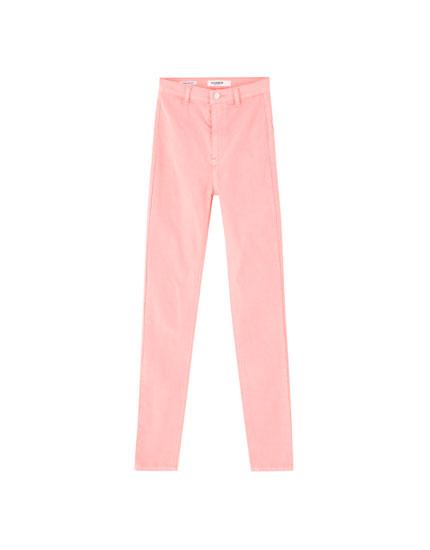 Pantalón flúor skinny