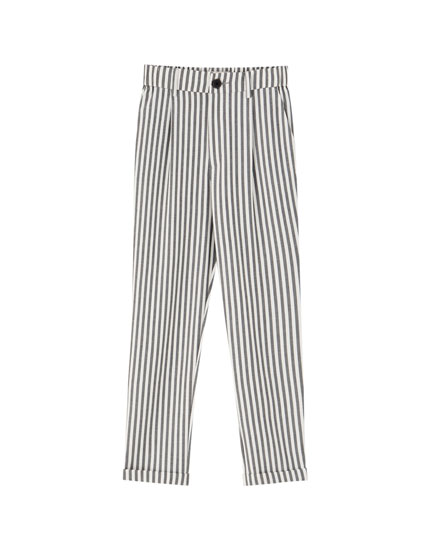Pantalón tailoring básico pinzas