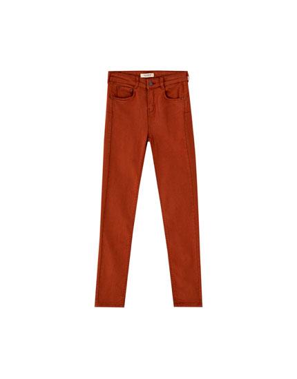 Pantalon push up couleur
